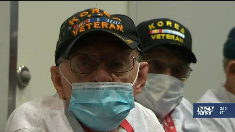 In the two years since the last Honor Flight Bluegrass, 35 veterans scheduled to make the trip...