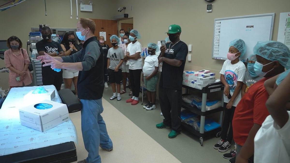 The program debuted Saturday with around two dozen youth ambassadors between four and...