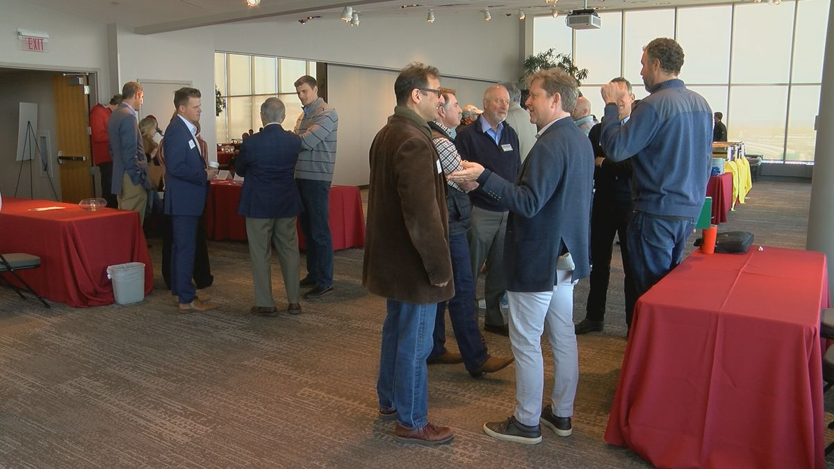 Venture Connectors' monthly luncheons are held at the Muhammad Ali Center on the first...