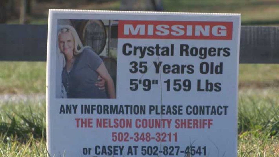 Crystal Rogers disappeared in July 2015. Police have named her boyfriend at the time as the...