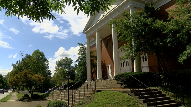 Three times in just a week and a half, members of the Beechmont Baptist Church say they have...