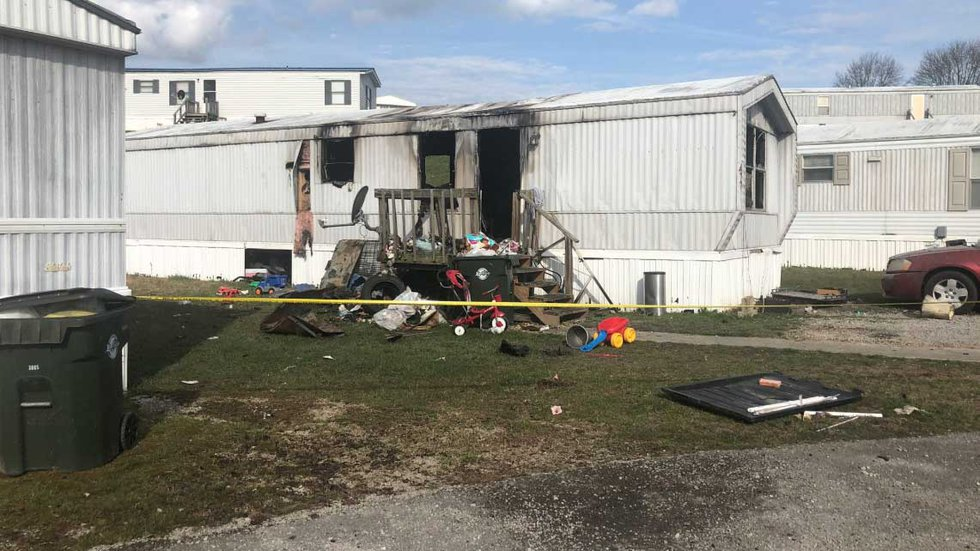 Two-year-old Joseph Brock died in the fire. (Source: WKYT)