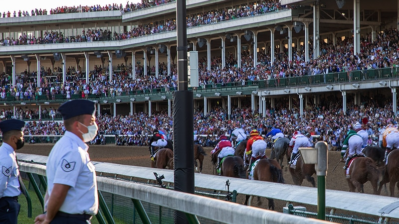 Kentucky Derby 147 was attended by 50,800 people.