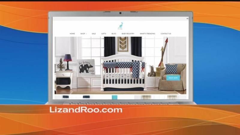 Liz and Roo Fine Baby Bedding