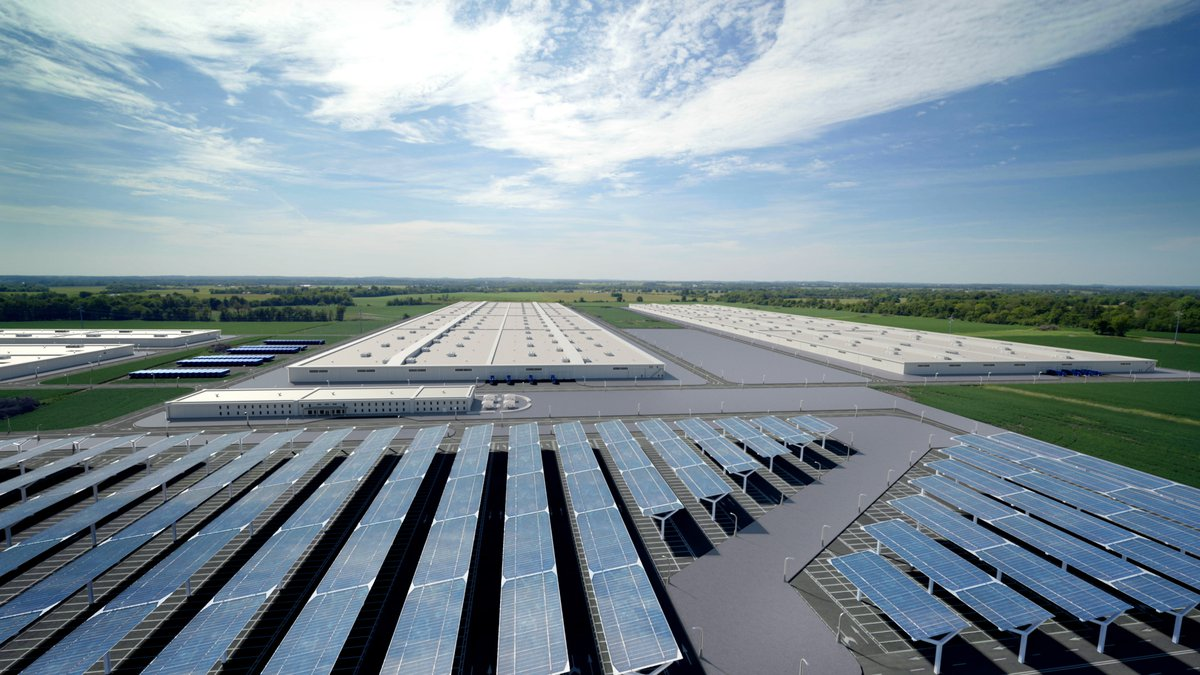The new dedicated electric vehicle battery manufacturing complex, BlueOvalSK Battery Park, will...