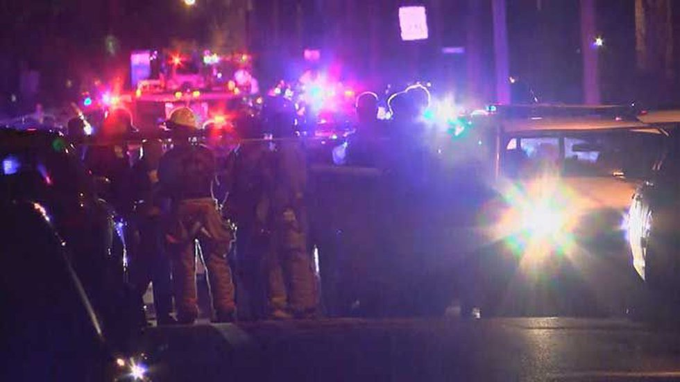 Officers from two LMPD divisions, along with fire and EMS, responded to the scene. (Source:...