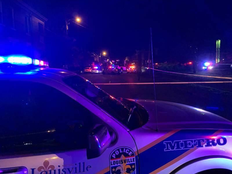 One possible victim has been located, according to LMPD dispatchers.