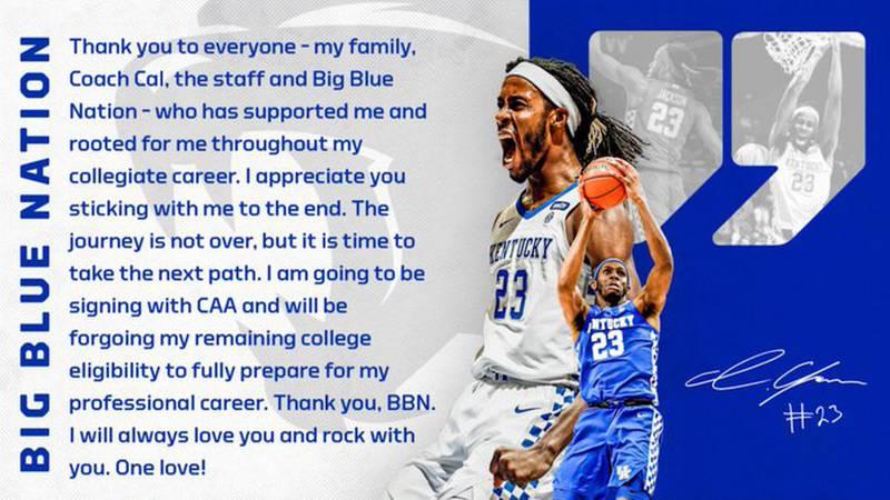Isaiah Jackson announces he's headed to the NBA