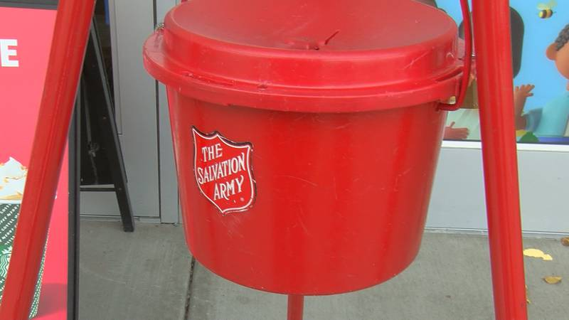 It's that time of year again, on Friday the Salvation Army kicked off their annual Red Kettle...