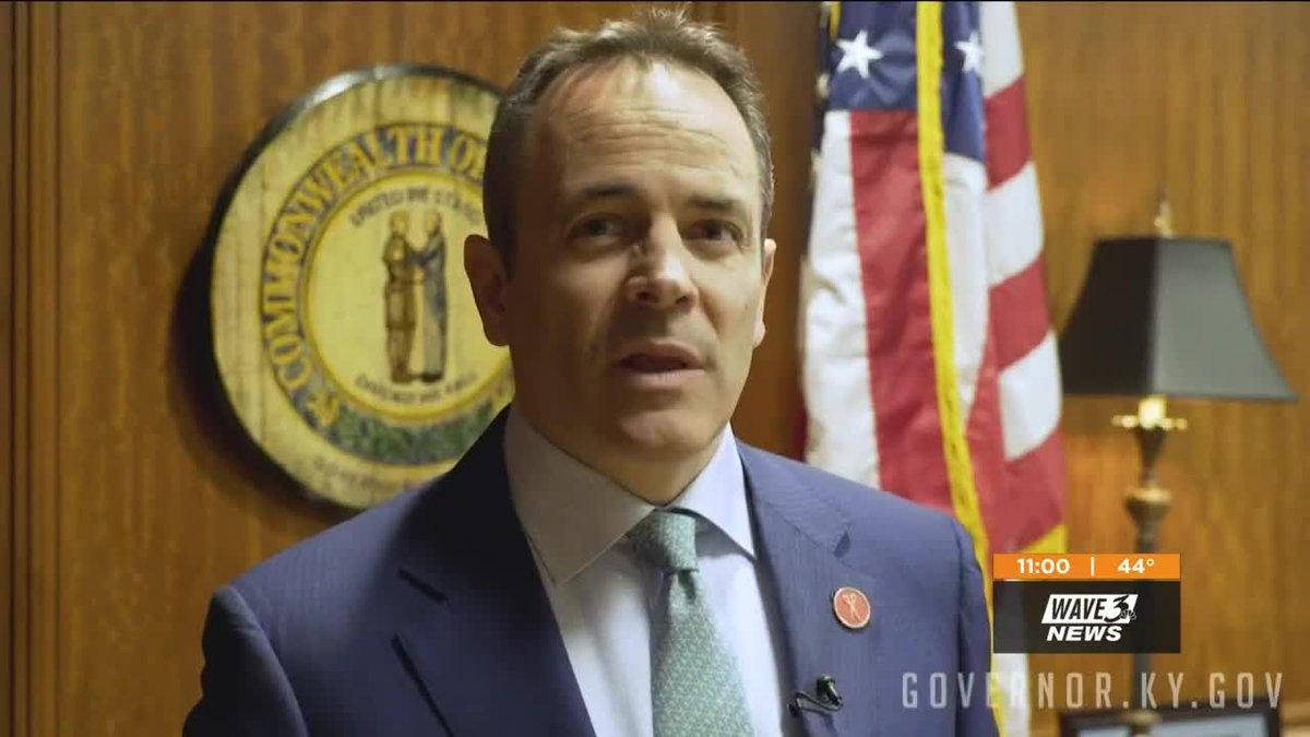 Kentucky Gov Matt Bevin video still