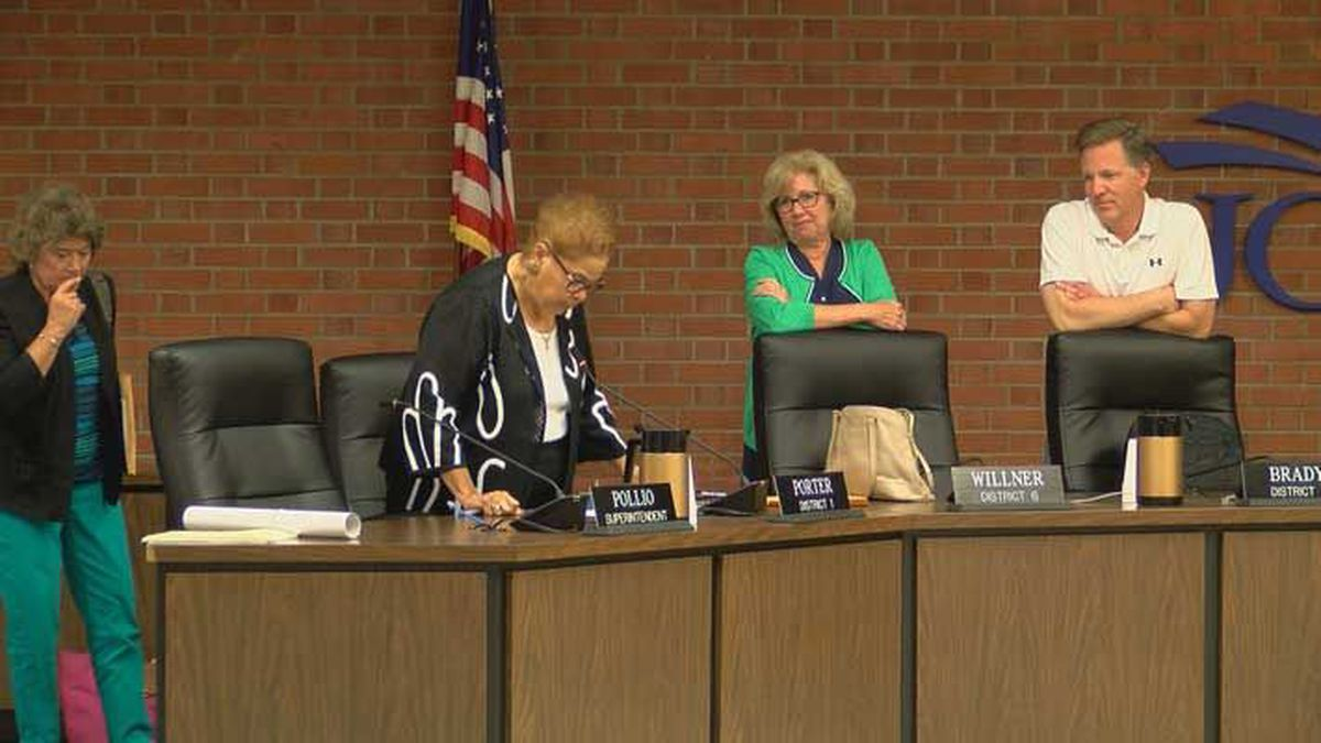 The JCPS board meeting lasted four hours - but little information was given to the public....