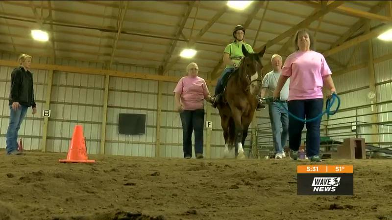 Reins to Recovery uses horses to help people with disabilities, at-risk kids and victims of...