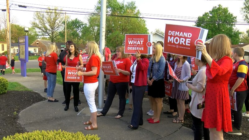 Teachers from around Indiana will fill the statehouse on Tuesday, wearing red for education as...