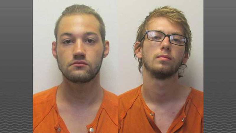 Kristopher Lucas and Jonathan Lamaster (Source: Clark County Jail)