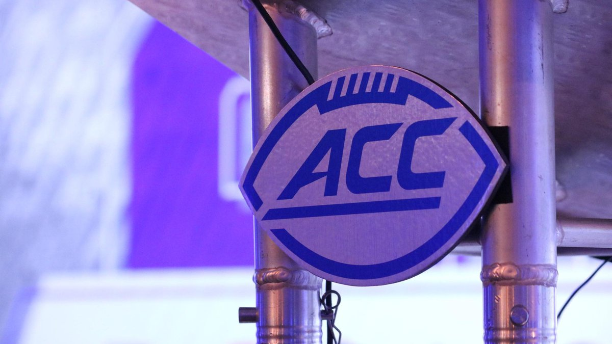 ACC Commissioner Jim Phillips speaks at the opening day of ACC Kickoff.