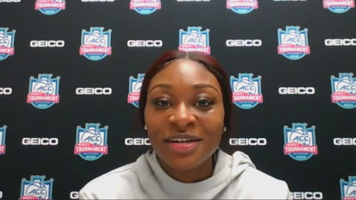 ACC Player of the Year Dana Evans