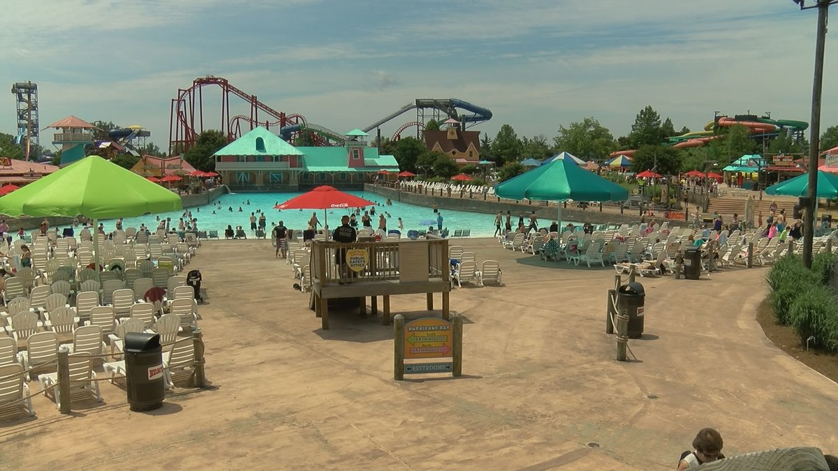 The incident involved the Deluge water ride at Kentucky Kingdom.