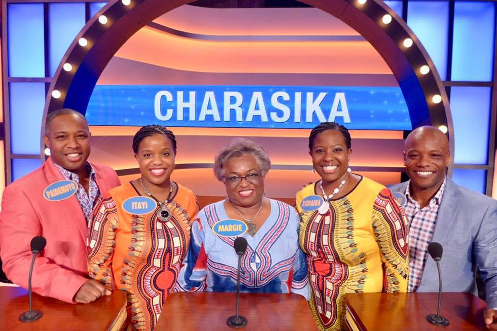 The Charasika family made it through the selection process in Louisville before being flown to...