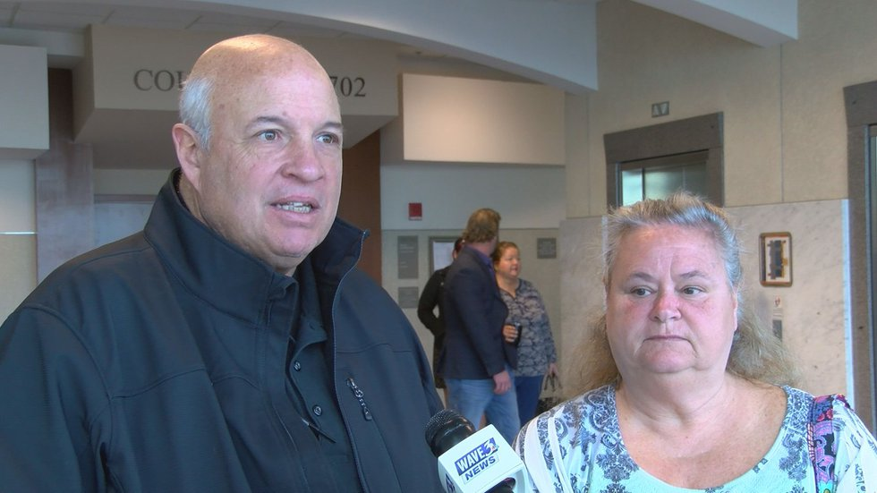 Mark Eakins and his wife Margie Eakins paid Cooper to replace their roof but said he never came...