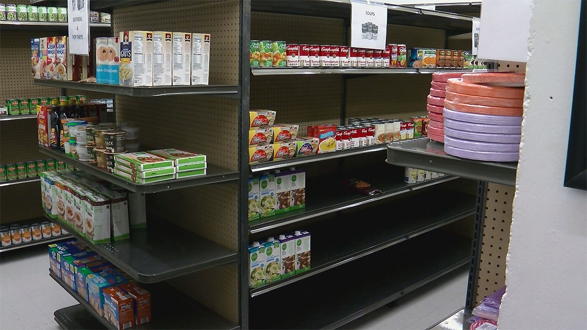 Kroger and Dare to Care partnered with Simmons College to expand the food pantry, which will...