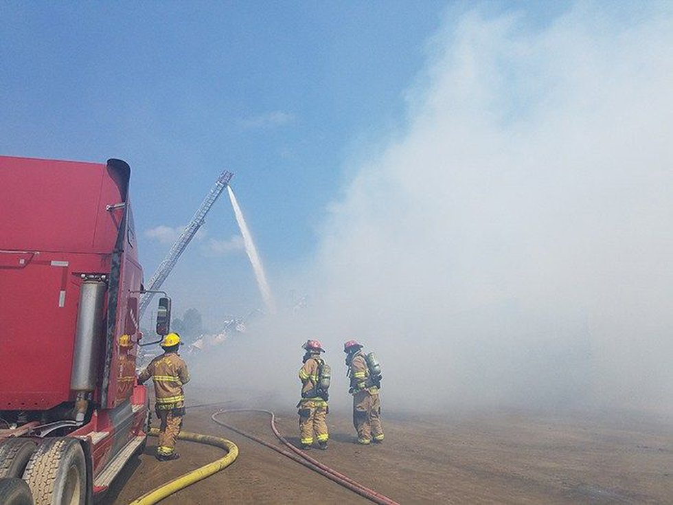 The fire took several hours to put out (Source: Okolona Fire)