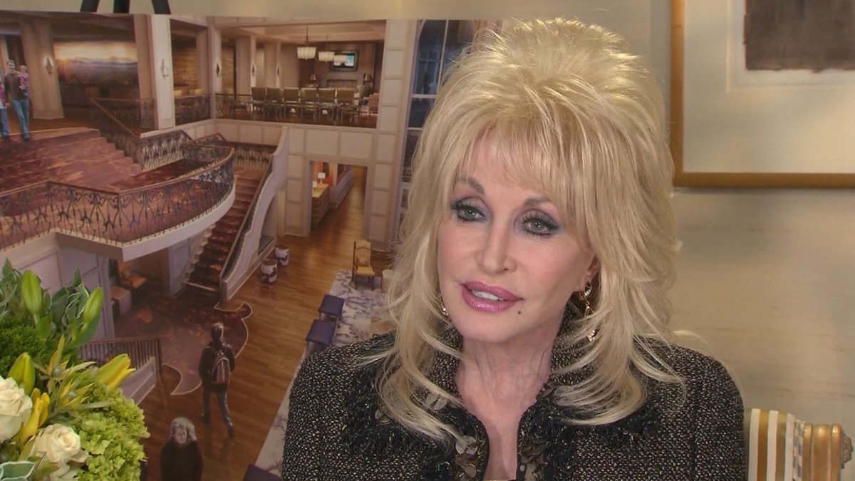 Dolly Parton said she wants to make a return visit to the cover of Playboy magazine.