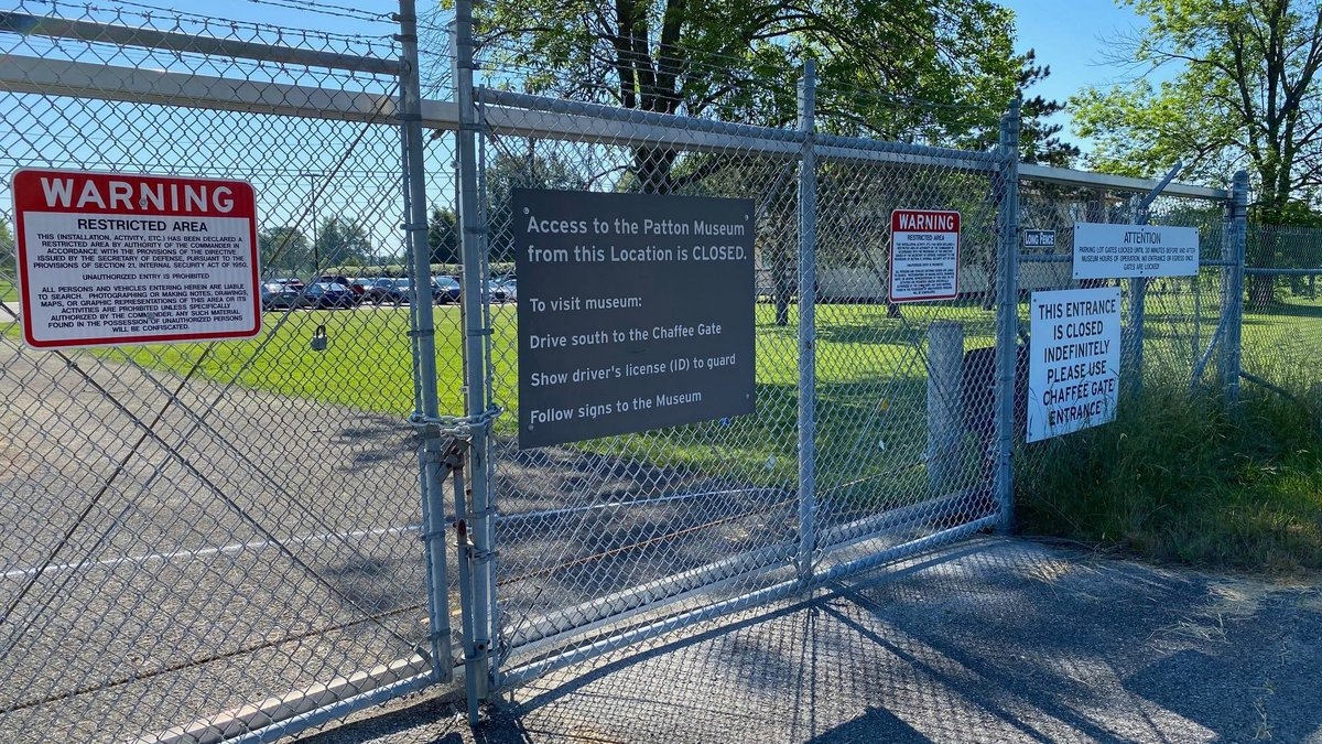 The General George Patton Museum will open a long-awaited gate providing direct access to the...