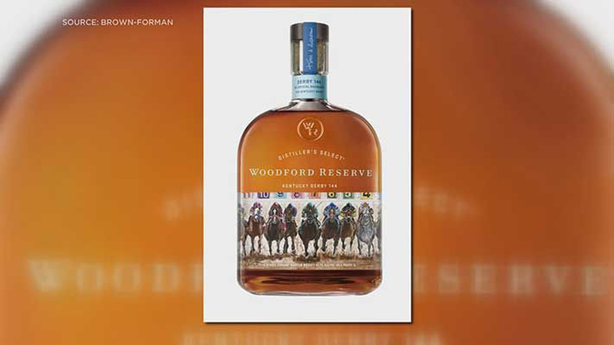 The 2018 Kentucky Derby Woodford Reserve bottle was designed by a Brown-Forman employee....