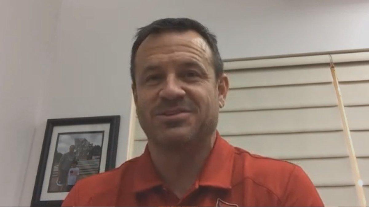 UofL head coach Jeff Walz