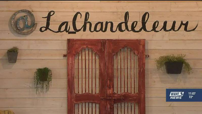 Woodlawn Avenue in Beechmont had a unique attraction in the French creperie La Chandeleur.