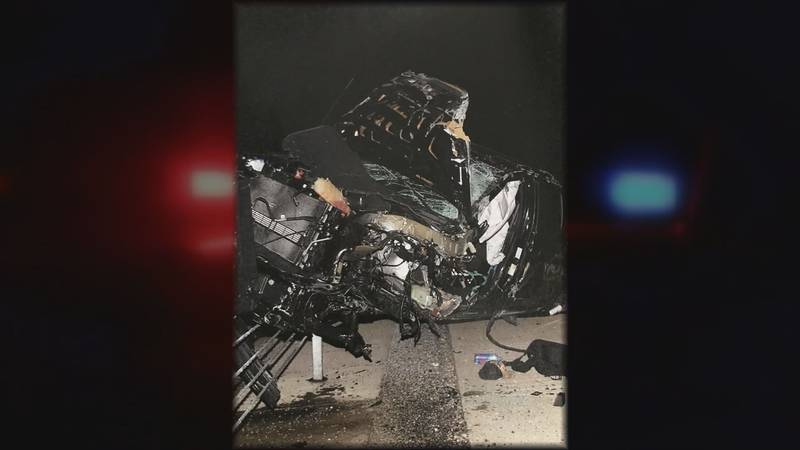 The two cars were a mangled mess after the crash. (Source: Attorney TJ Smith)