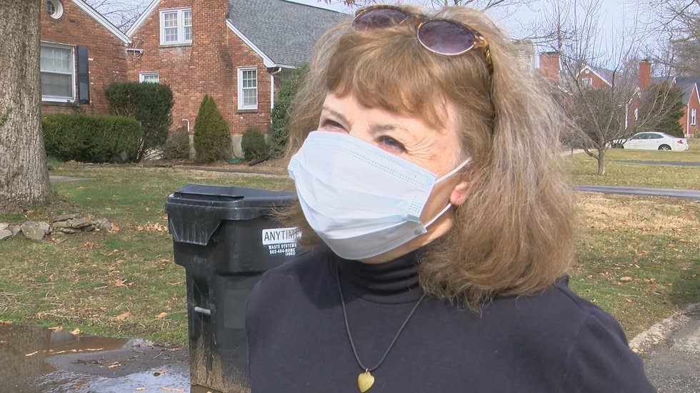 Marynan Mudd is one of many homeowners who dealt with a flooded basement after record rains on...
