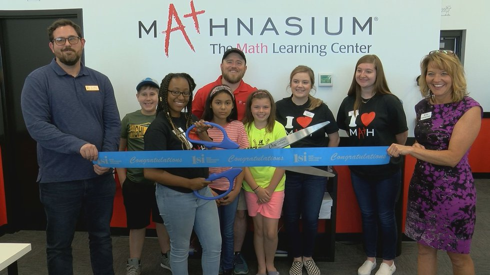 Representatives from the State of Indiana and One Southern Indiana joined Mathnasium for its...