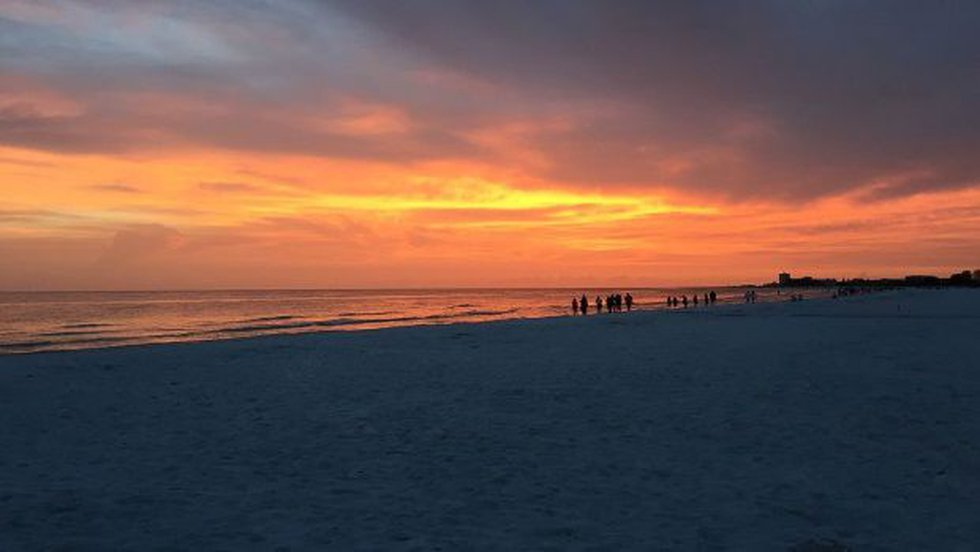 Siesta Key Beach. Scott makes it clear: Florida isn't privatizing beaches.