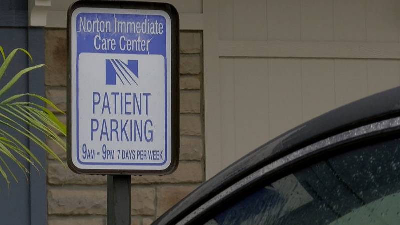 Patients were instructed to wait in their cars instead of the waiting room.