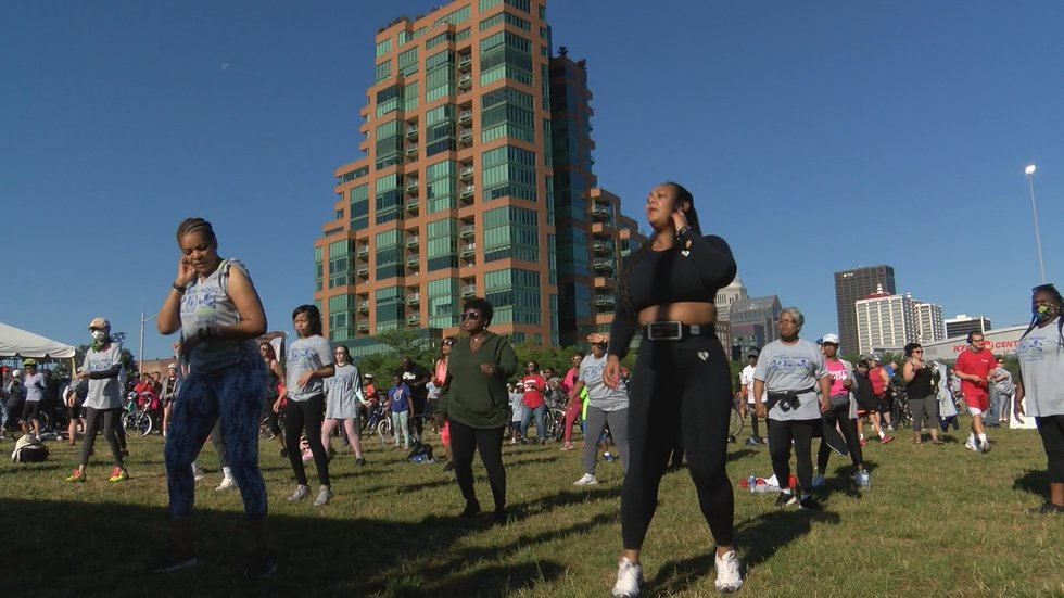 Participants could explore other activities like Zumba.