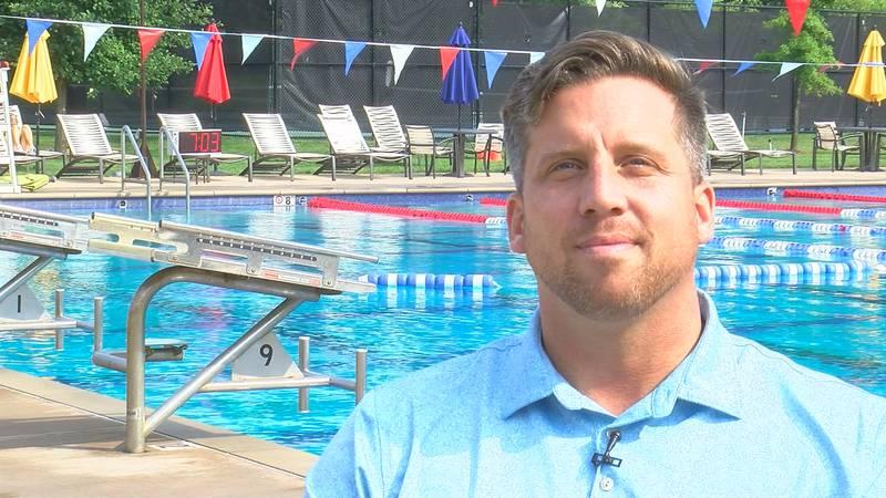 Clark Burckle swam for Team USA in the 2012 London Olympics