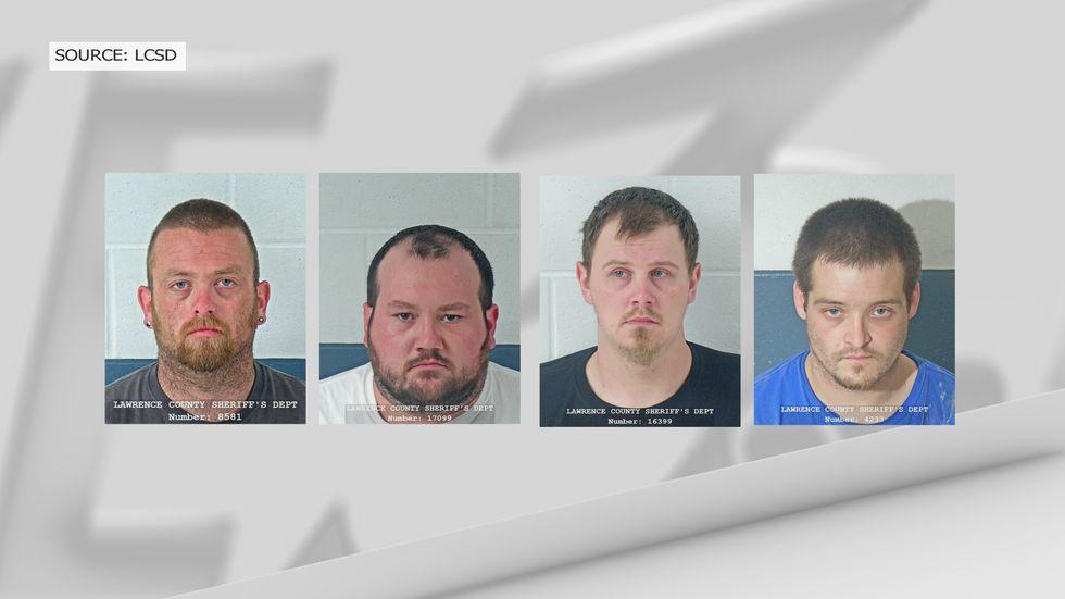Four arrests were announced. (Source: LCSD)