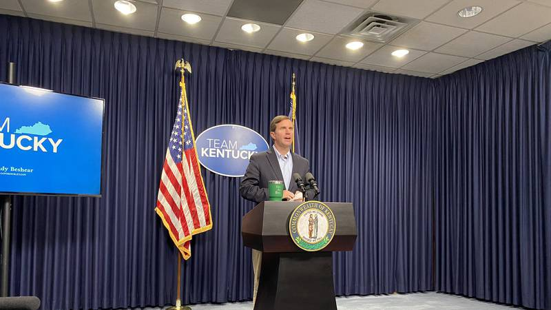 Gov. Andy Beshear said the Kentucky General Assembly needs to discuss different options for...