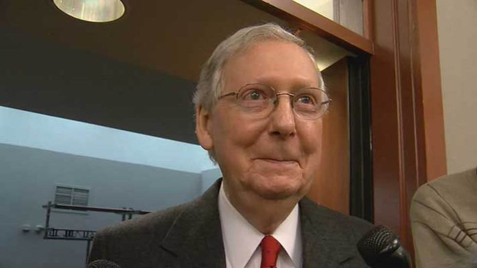Mitch McConnell is the Senate Majority Leader. (Source: WLEX)