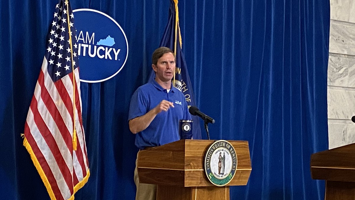 Gov. Beshear says the growing cases continue to highlight the need for people to get vaccinated...