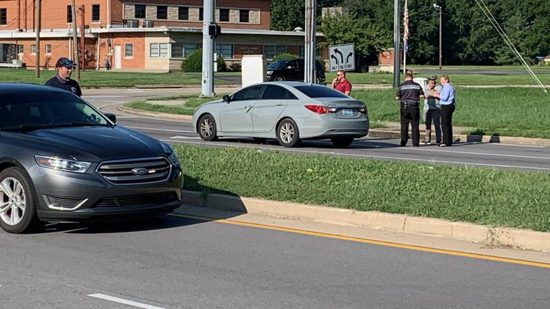 Police were called to the intersection of Jefferson Boulevard and Poplar Level Road for the...