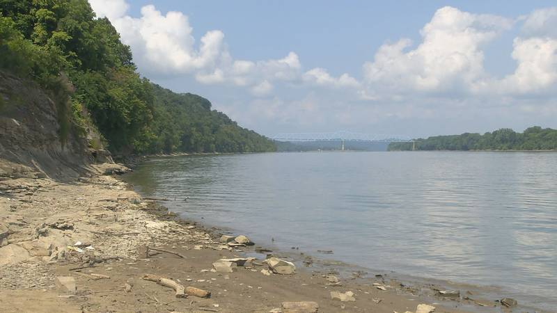 Brandenburg police are investigating the discovery of two bodies in the Ohio River  and trying...