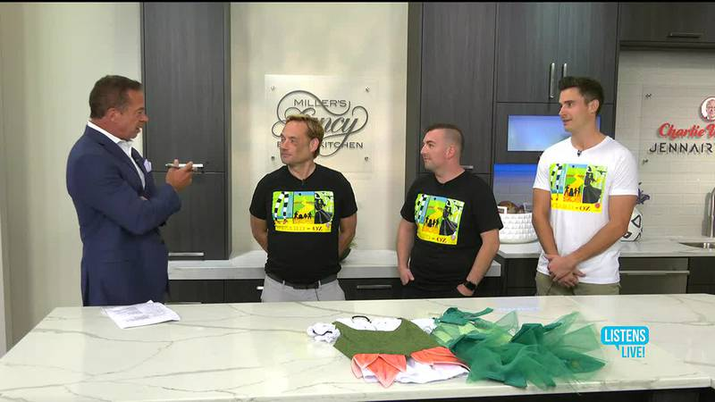 Randy Blevins, Brian Bowles and Trent Byers of ACT Louisville Productions
