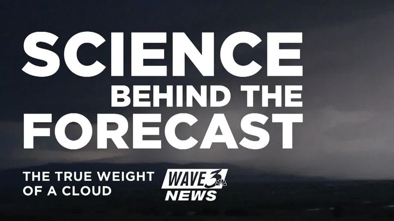 Science Behind the Forecast: How much does a cloud weigh