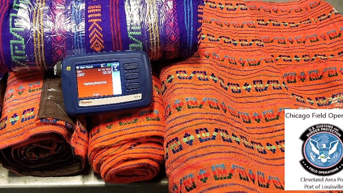 A shipment arriving from Mexico on April 23 contained what appeared to be tablecloths, but CBP...