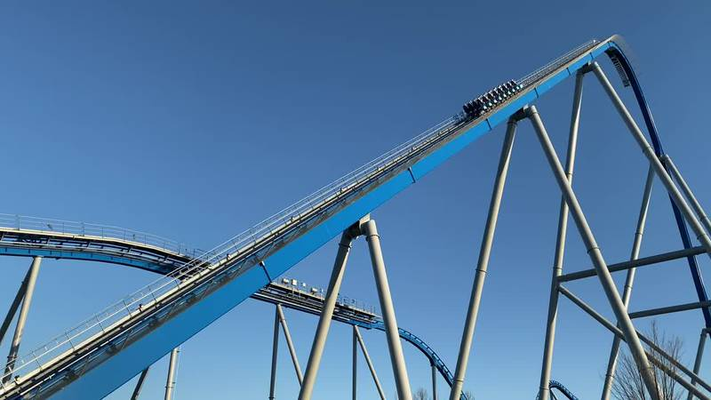 King's Island new roller coaster Orion completes first test run