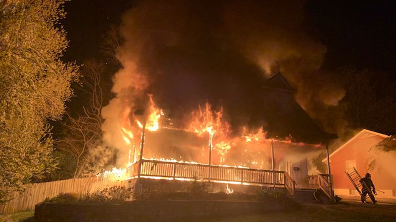 No injuries were reported in a house fire in the Audubon neighborhood early Tuesday morning.