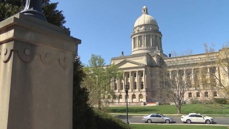 The Kentucky State Capitol in Frankfort.
