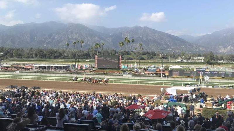 A big Kentucky Derby prep race won't take place this Saturday because Santa Anita Park in...